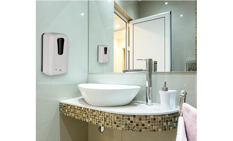Wall Mounted Hand Sanitizer Gel Alcohol Foam Soap Liquid dispenser automatic machine