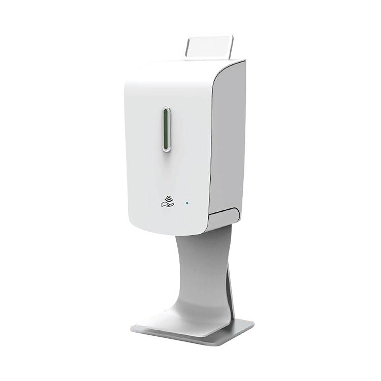 Table top hand sanitizer dispenser