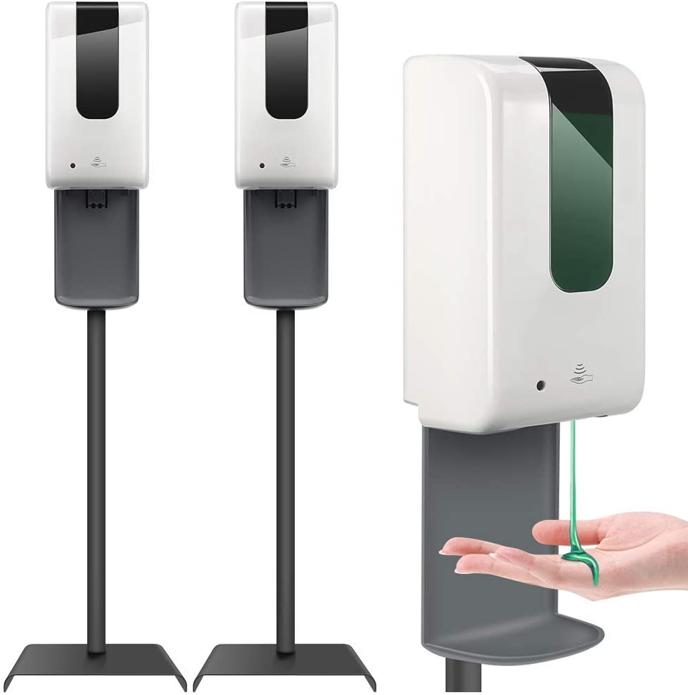 touchless hand sanitizer dispenser stand 2021