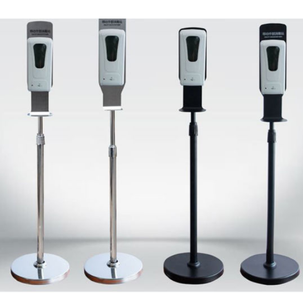 touchless hand sanitizer dispenser stand